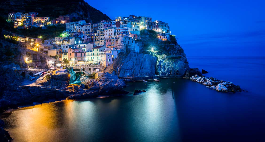 Manarola, the smallest of the five towns known as Cinque Terre