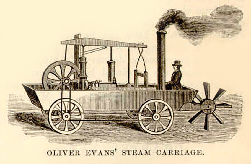 the history of the first self powered road vehicle Fire engines: a timeline  when a fire truck comes rolling down the road — sirens  1841 — america's first self-propelled, steam-powered fire engine was.