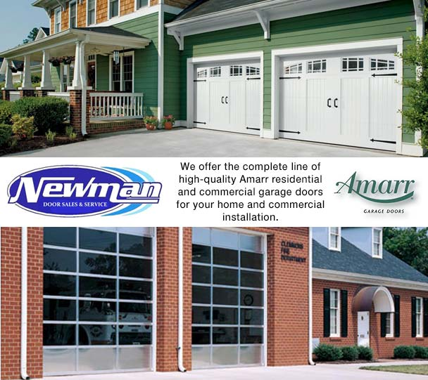 newman garage door sales u0026 service llcamarr is one of the worldu0027s leading designers and of door access systems for residential