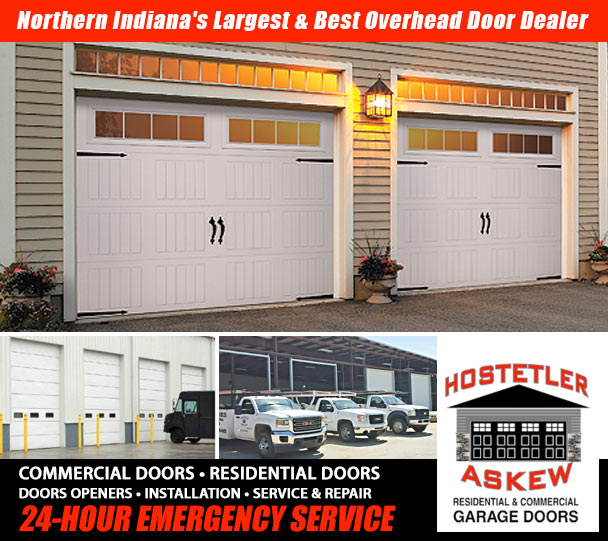 Perfect HOSTETLER DOORWeu0027ve Proudly Served The Michiana Area For Over 40 Years,  Providing The Best Options For All Residential And Commercial Overhead Door  Needs.