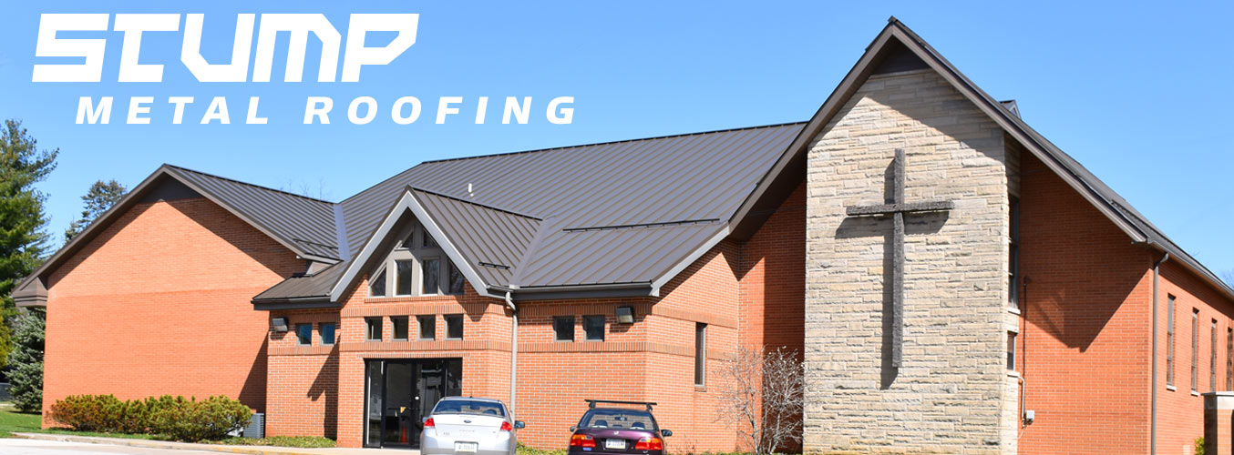 A Stump Metal Roofing standing seam roof is the best investment a property owner can make.