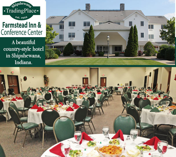FARMSTEAD INN CONFERENCE CENTERShipshewana Trading Place Offers Many Gorgeous Yet Simple Northern Indiana Venues For Weddings Retreats Auctions