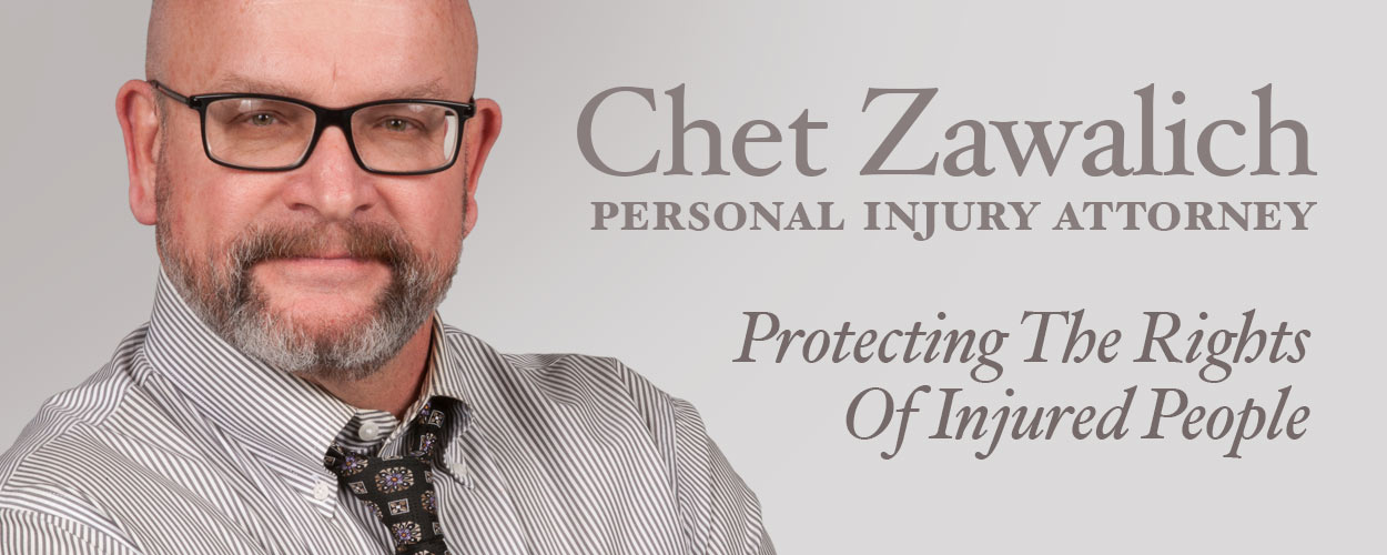 Chet Zawalich Personal Injury Attorney South Bend