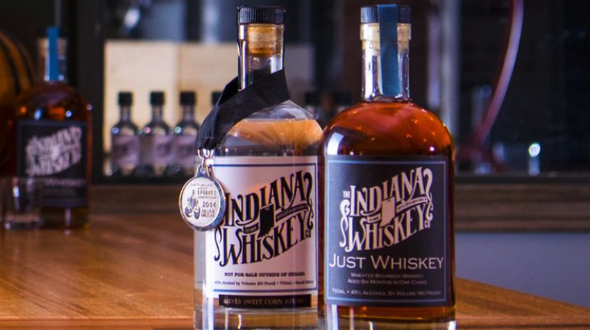 Best Local Whiskey Brands in Indianapolis and Just Whiskey Bourbon Whiskey by The Indiana Whiskey