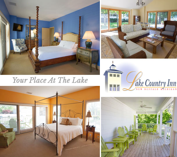Lake Country Innthe Inn In New Buffalo Michigan Boasts Distinctive Extremely Comfortable Nesting Places For The Weekend Getaway Or