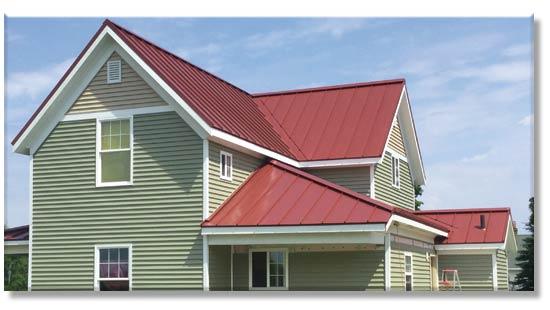 Stump Metal Roofing