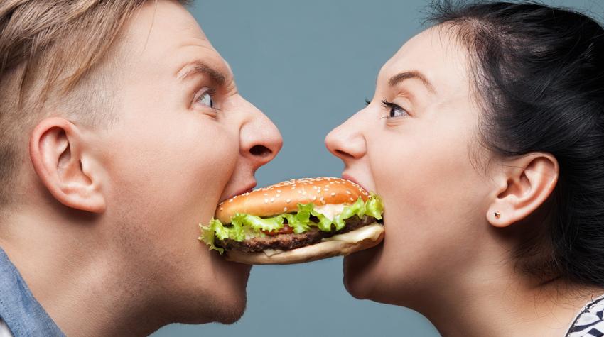how many hamburgers americans eat