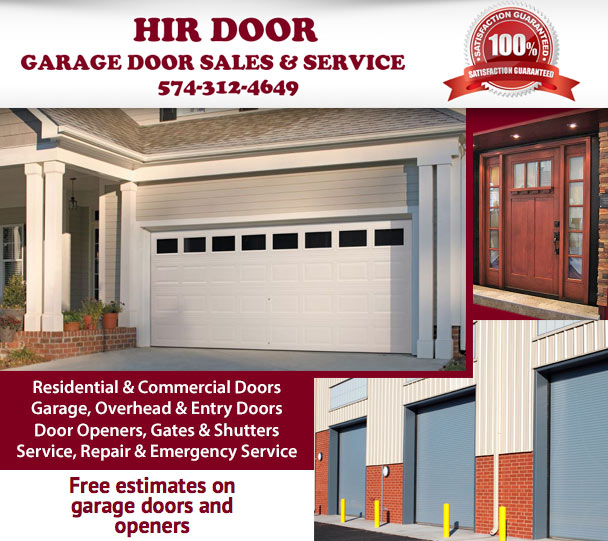 HIR DOORHIR Door has been providing quality residential and commercial garage door installations garage door repair and garage door openers in Michiana ...  sc 1 st  zzzippy.com & Garage Doors Porter County pezcame.com