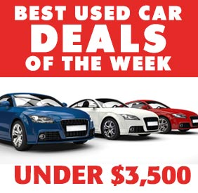 Best Used Car Deals Under 3 500