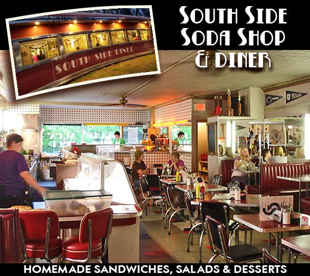 South Side Soda The Features Homemade Sandwiches Salads And Desserts We Feature Over Fifty Varieties Of Pie As Well Old