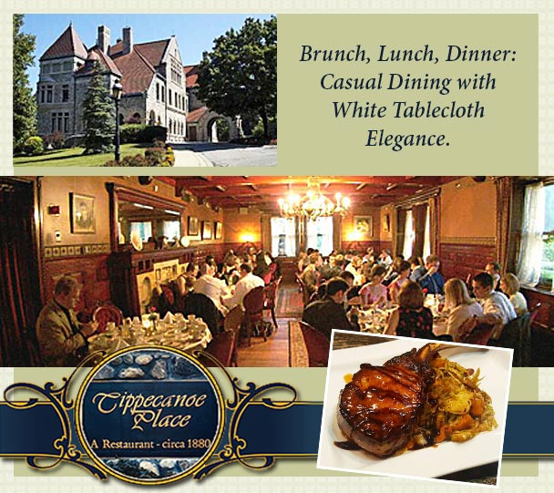 Fine Dining Has Been A Tradition At Tippecanoe Place Since The Studebaker Family First Welcomed Guests To Their Beloved Mansion In Late
