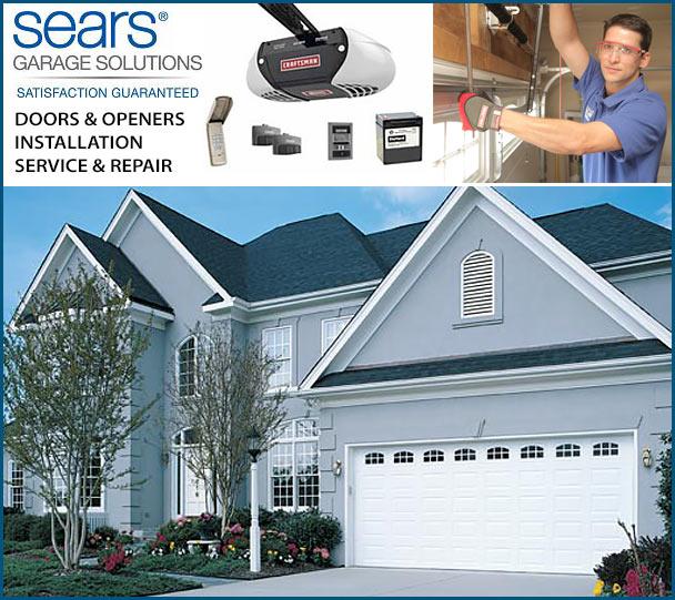 Sears Garage Door Solutions Garage Door Ideas