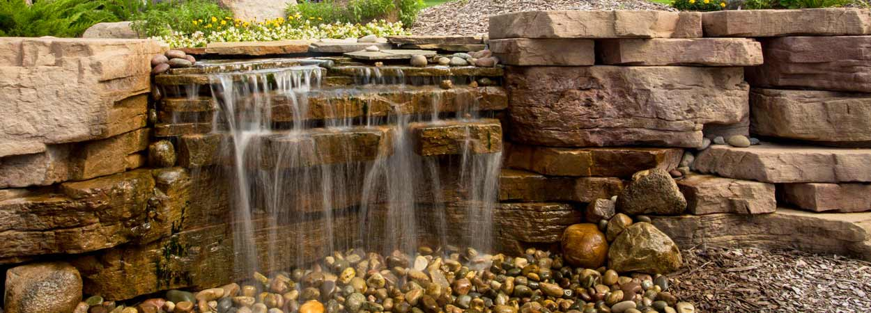 Waterfalls and Water Features on Kuert Outdoor Living id=58833