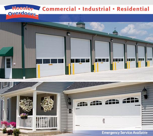 HOOSIER OVERDOORS OF INDIANASince 1986 home and business owners have depended on Hoosier Overdoors for all their overhead door needs. & Garage Doors Michiana