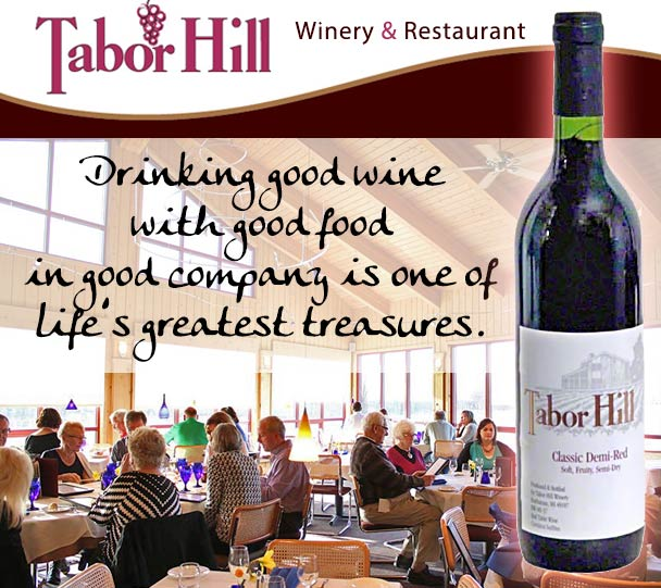 Nestled In The Rolling Hills Of Southwest Michigan Tabor Hill Winery Restaurant Has A Rich History Producing